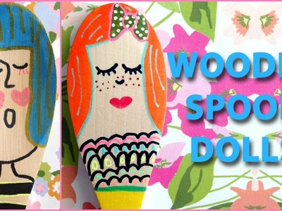 DIY Cute & Colorful Spoon Puppets