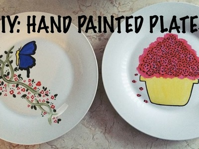 DIY: Hand Painted Plates