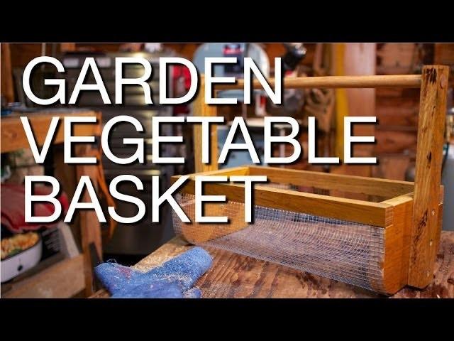 DIY Harvesting Basket