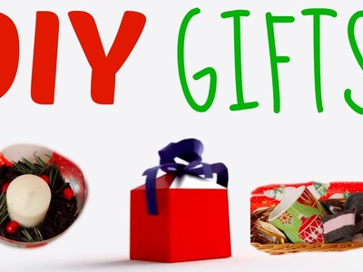 DIY Holiday Gift Guide 2014 (Girl, Boy, Young Kids, Parents)