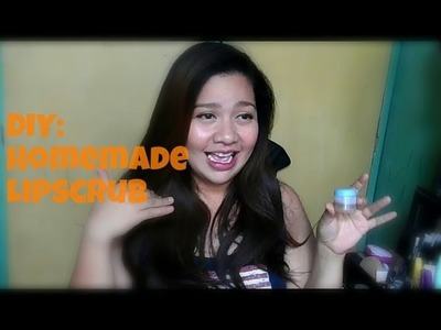 DIY: How to make your own lip scrub | homemade | Phoebe Ortiz