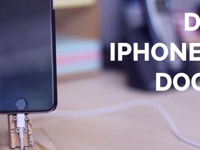 DIY iPhone 6 Dock (Stand)