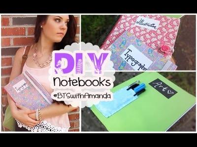 DIY Notebooks | #BTSwithAmanda