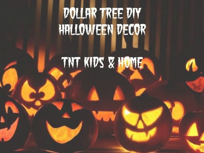 Dollar Tree DIY - Halloween Decor
