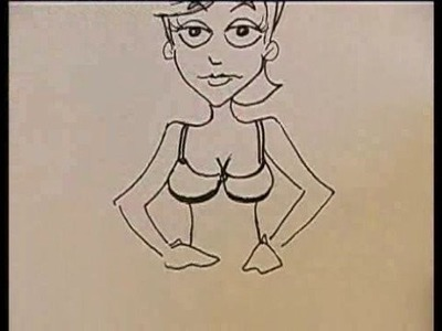 Drawing Cartoon Clothes for Women : Drawing Cartoon Clothes for Women: Underwear