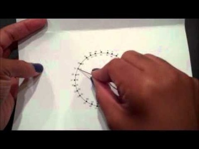Embroidery.String Art Cards III | The Handwork Studio | How To Tuesday