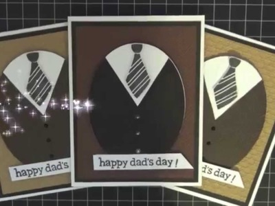 Father's Day Card Stampin Up and Lawn Fawn