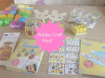 Hobby Craft Sale Haul!!