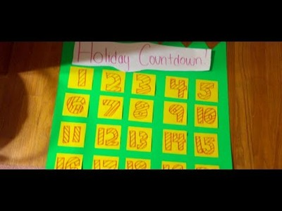 Holiday Countdown DIY! Rainbow Loom Ideas