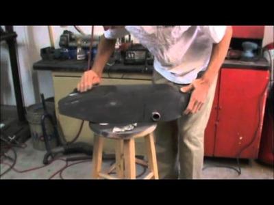 Homemade gas tank and custom paint job (brandy wine color)