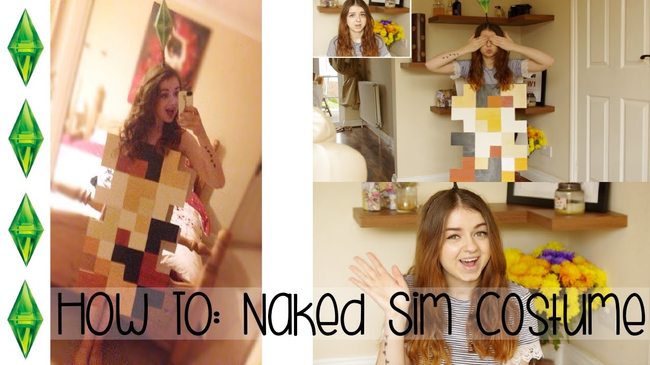 HOW TO • D.I.Y Naked Sim Costume