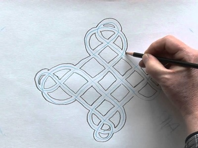 How To Draw A Carrick Bend Knot