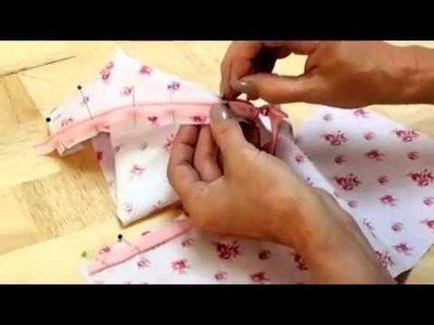 How to insert an invisible zip by Debbie Shore