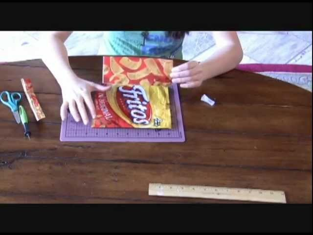 How to Make a Chip Bag Duct Tape Wallet