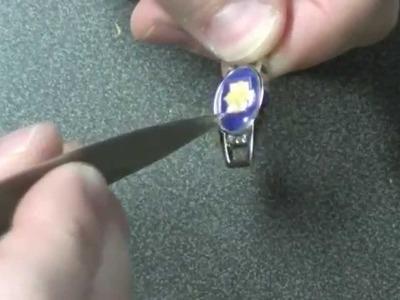 How to make a paracord bracelet charm