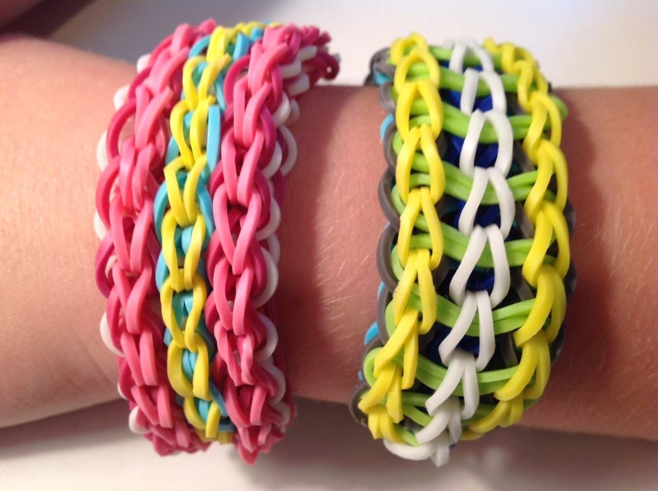 How to make a Rainbow Loom Twisty Wristy Bracelet
