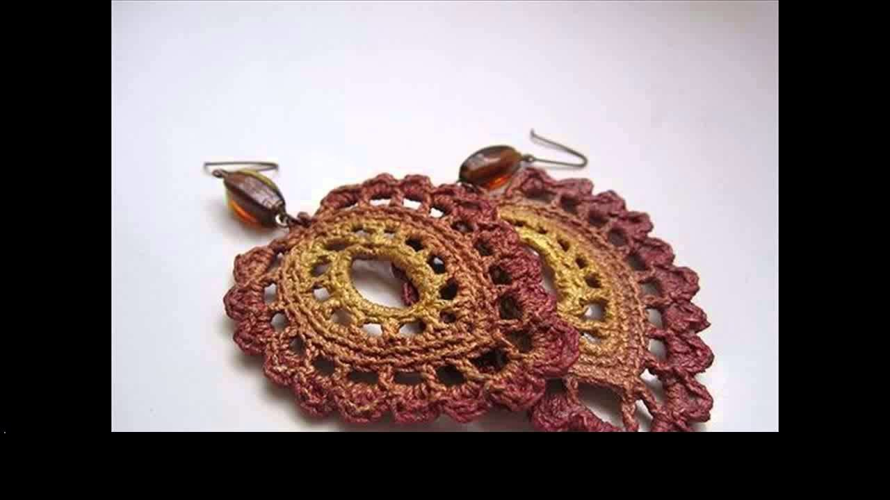 Learn to crochet earrings