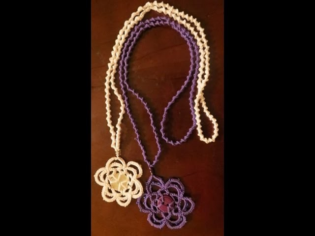 Needle Tatting Necklace