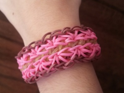 New! Duo Burst Bracelet on Rainbow Loom