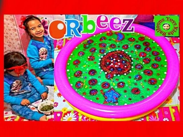 NEW Orbeez Crush GIANT BIRTHDAY CAKE Sweet Treats Studio DIY Kids Fun Time Kids Balloons and Toys