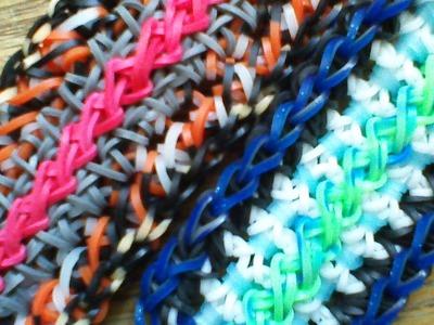 NEW Rainbow Loom Edelweiss Bracelet