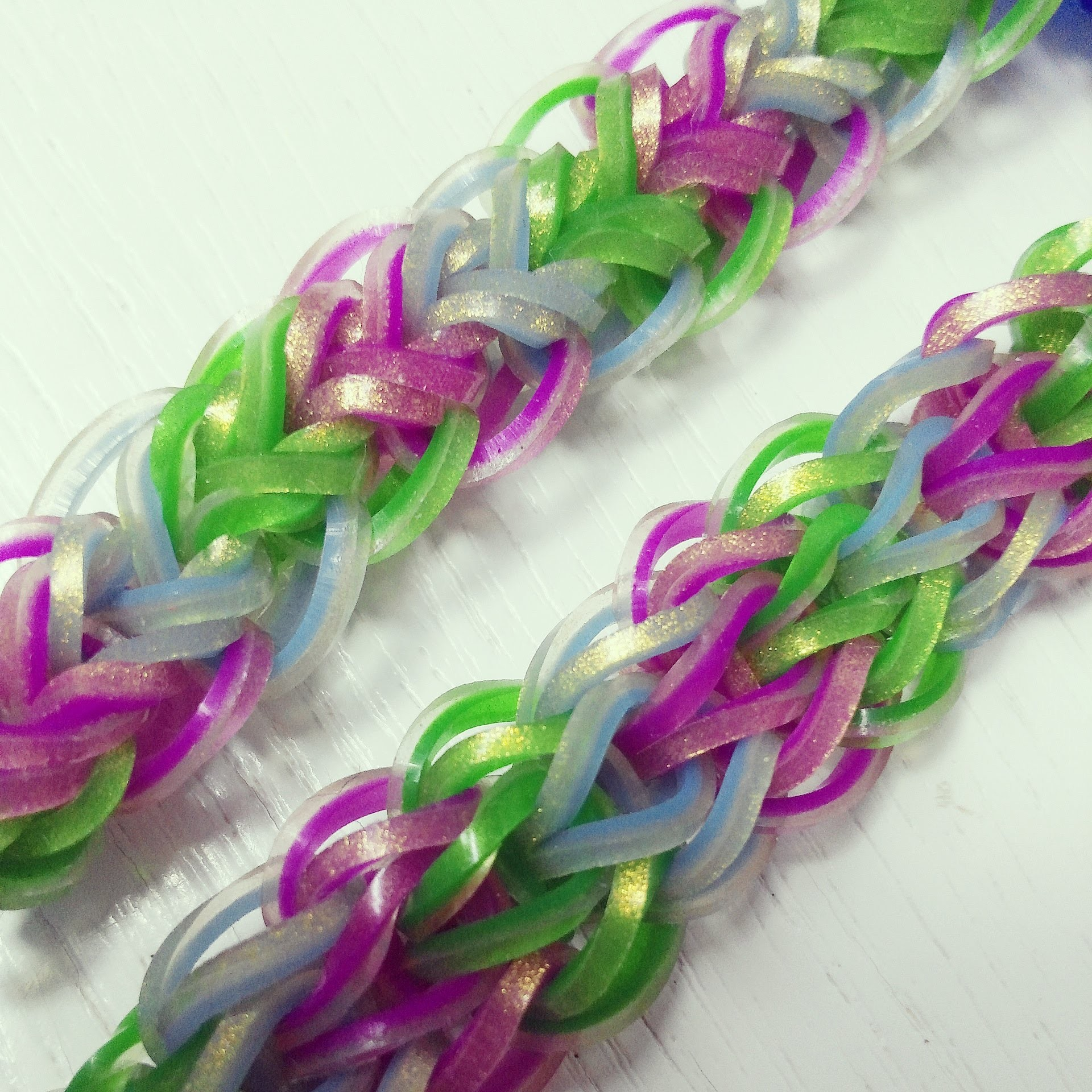 NEW Triple Raindrops Rainbow Loom Bracelet Tutorial (Original Design)