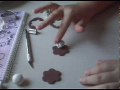 Polymer Clay Tutorial- Vanilla Stuffed Chocolate Cookie
