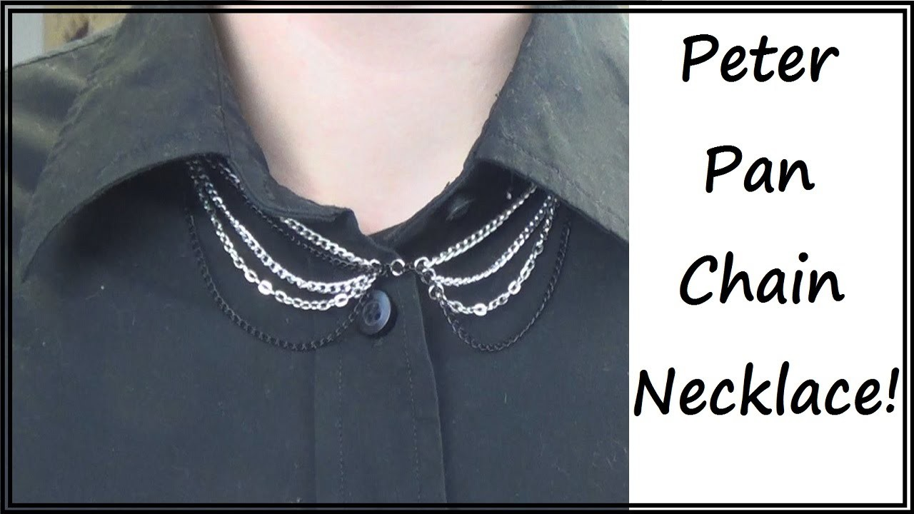 Sewing Nerd! - Tutorial: Make a Peter Pan Collar Necklace!