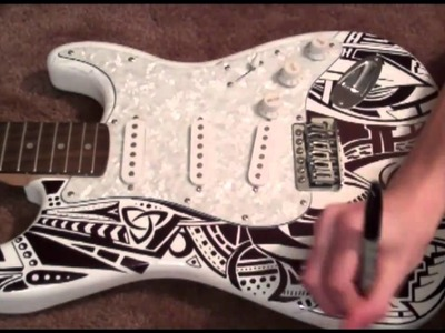 Sharpie Guitar Time Lapse