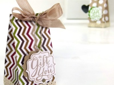 Stampin' Up! UK ADVENT COUNTDOWN 19 Table Gift Bag