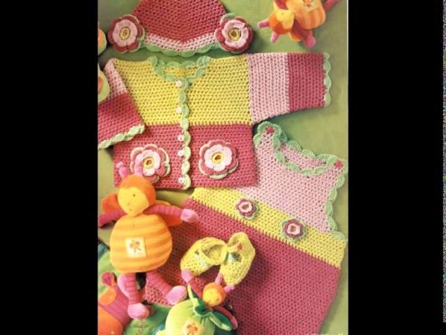VERY EASY crochet cardigan. sweater. jumper tutorial - baby and child sizes 13