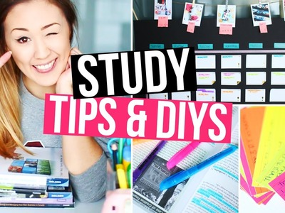 5 Study DIYs & Tips to Stay Organized at School! | LaurDIY