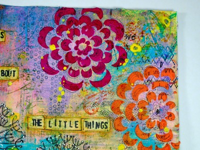 Art Journal: The Little Things
