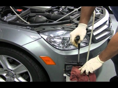 BENZWERKS HOW TO OIL AND FILTER CHANGE