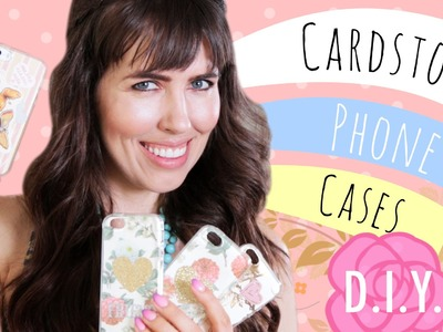 D.I.Y. Cardstock Phone Cases