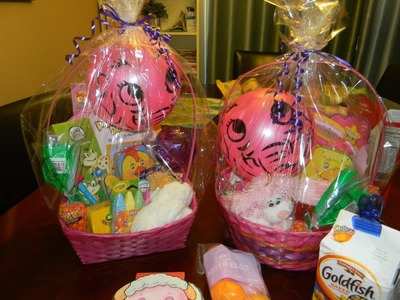 DIY: EASTER BASKETS