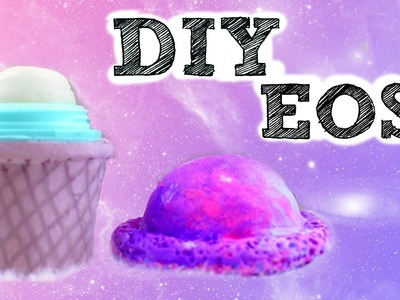 DIY EOS Ice-Cream- Galaxy inspired!