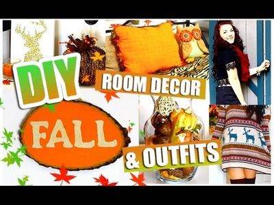 DIY Fall Decor + OUTFIT IDEAS!