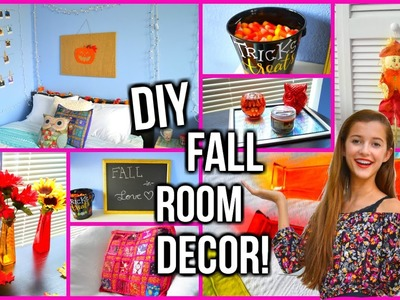 DIY Fall Room Decor ♡ 2015!