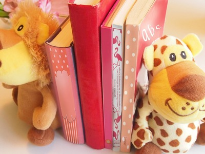 DIY Kids' Room Bookends