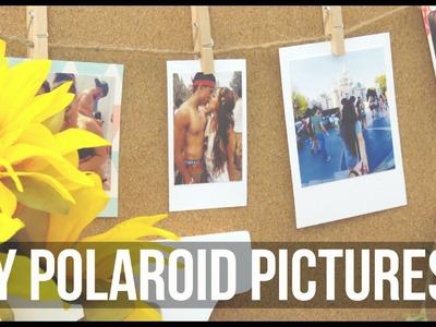 DIY Polaroid Pictures ♡ Karina Lynn Kho