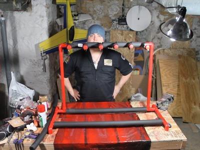 DIY PVC Guitar Rack - Ash's Basement
