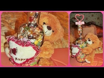 DIY-Quick and easy Valentine's Day GIFT. POKLON za Dan Zaljubljenih. REGALO para San Valentin