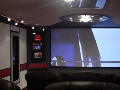 DIY Star Trek Home Theater - Final Project Video