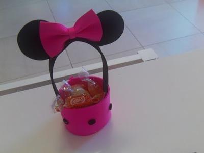 Dulcero de Minnie Mouse super facil