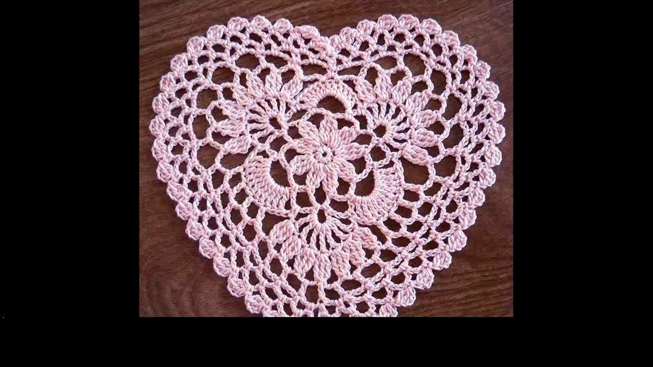 Easy crochet heart for beginners