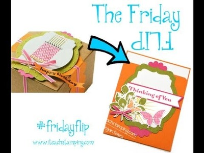 Friday Flip - Kinda Eclectic from Stampin' Up!