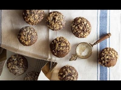 Healthy DIY ♥ Oat Banana Breakfast Muffin Recipe!