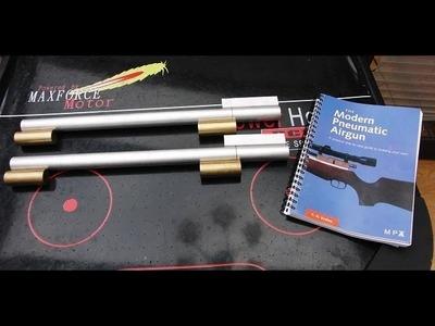 Homemade PCP Air Rifle - Modern Pneumatic Airgun - H.M. Buckley