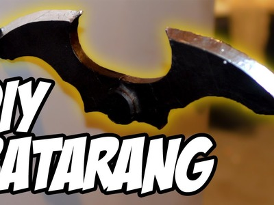 How To DiY Batarang from Batman Arkham Game series for Cosplay Costume Movie Props